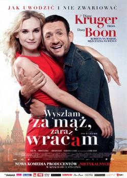 Przód ulotki filmu 'Wyszłam Za Mąż, Zaraz Wracam'