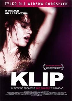 Przód ulotki filmu 'Klip'