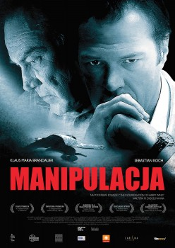 Polski plakat filmu 'Manipulacja'
