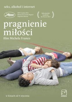 Polski plakat filmu 'Pragnienie Miłości'