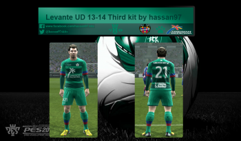 pes 2013 Levante UD 13-14 Third kit (FIX) by hassan97 download