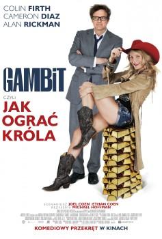 Polski plakat filmu 'Gambit, Czyli Jak Ograć Króla'