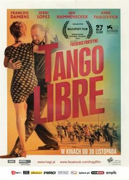 Przód ulotki filmu 'Tango Libre'