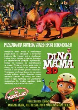 Tył ulotki filmu 'Dino Mama'