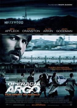 Przód ulotki filmu 'Operacja Argo'