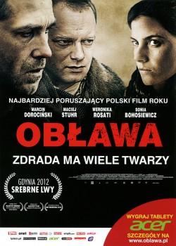 Przód ulotki filmu 'Obława'