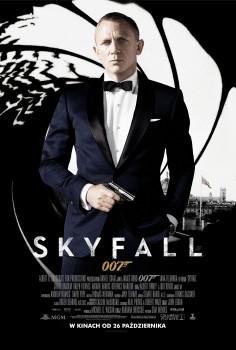 Polski plakat filmu 'Skyfall'