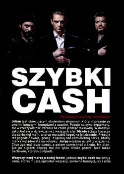 Tył ulotki filmu 'Szybki Cash'