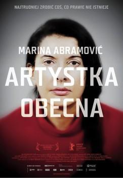 Polski plakat filmu 'Marina Abramović: Artystka Obecna'