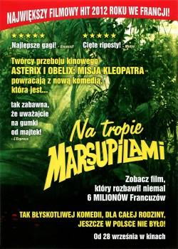 Tył ulotki filmu 'Na Tropie Marsupilami'