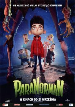 Przód ulotki filmu 'Paranorman'
