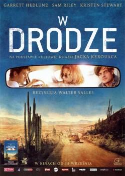 Przód ulotki filmu 'W Drodze'