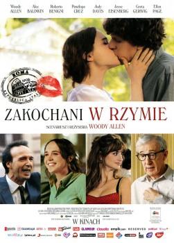 Przód ulotki filmu 'Zakochani W Rzymie'