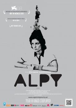 Polski plakat filmu 'Alpy'