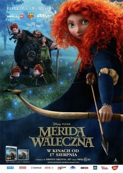Przód ulotki filmu 'Merida Waleczna'