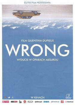 Przód ulotki filmu 'Wrong'