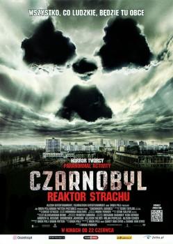 Przód ulotki filmu 'Czarnobyl. Reaktor Strachu'