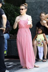Alyssa Milano - at the Farmer's Market in Studio City 9/1/13