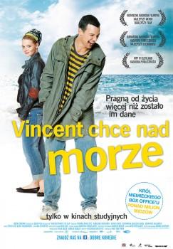 Polski plakat filmu 'Vincent Chce Nad Morze'