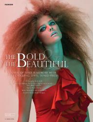 Nina Agdal - Miami Living Magazine - 2011
