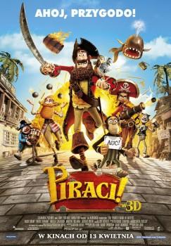 Polski plakat filmu 'Piraci!'