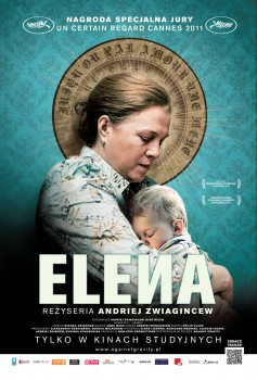 Przód ulotki filmu 'Elena'