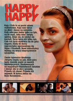 Tył ulotki filmu 'Happy, Happy'