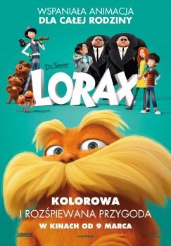 Polski plakat filmu 'Lorax'