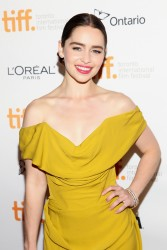 Emilia Clarke - 'Dom Hemingway' premiere at the 2013 TIFF 9/8/13