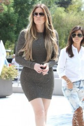 Khloe & Kourtney Kardashian - Out in LA 9/11/13