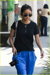 Brenda Song - Shopping in Beverly Hills 9/12/13