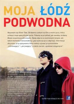Tył ulotki filmu 'Moja Łódź Podwodna'