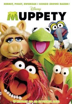 Polski plakat filmu 'Muppety'