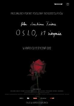 Polski plakat filmu 'Oslo, 31 Sierpnia'