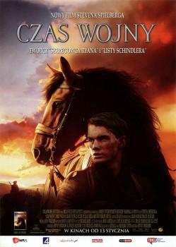 Przód ulotki filmu 'Czas Wojny'