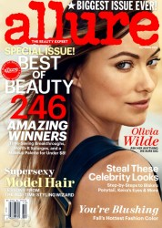 Olivia Wilde - Allure magazine 2013 October
