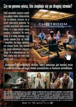 Tył ulotki filmu 'Chatroom'