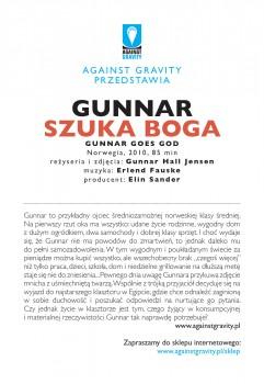 Tył ulotki filmu 'Gunnar Szuka Boga'