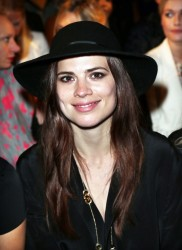 Hayley Atwell - Unique Spring 2014 fashion show in London 9/15/13