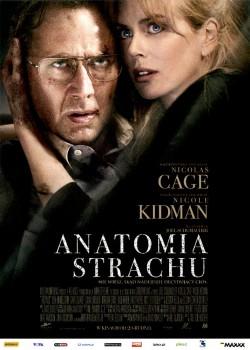 Przód ulotki filmu 'Anatomia Strachu'