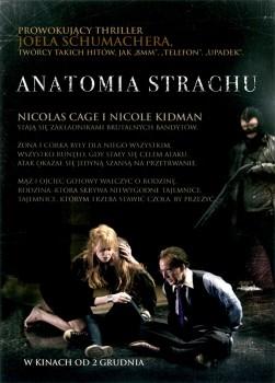 Tył ulotki filmu 'Anatomia Strachu'