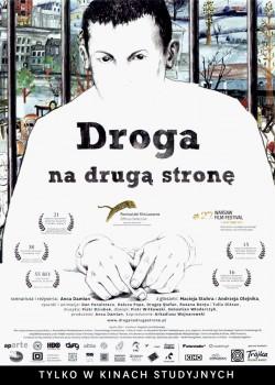 Przód ulotki filmu 'Droga Na Drugą Stronę'