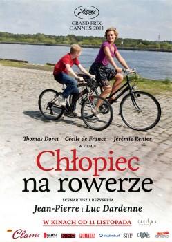Przód ulotki filmu 'Chłopiec Na Rowerze'