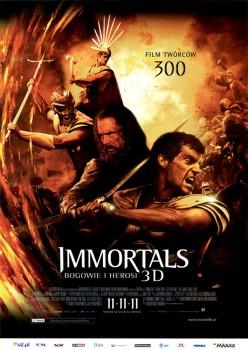 Przód ulotki filmu 'Immortals. Bogowie i Herosi'