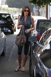 Cindy Crawford - out in LA 9/17/13