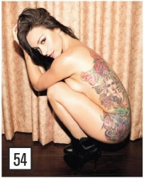 Danielle Harris in Inked Magazine - November 2013