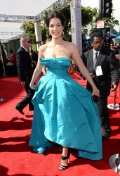 Jessica Paré - 65th Primetime Emmy Awards 9/22/13