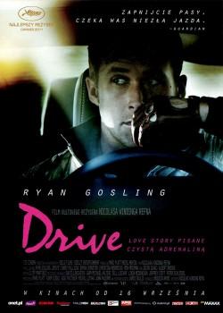Przód ulotki filmu 'Drive'