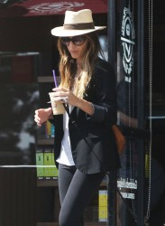 Kate Beckinsale - at Coffee Bean in West Hollywood 9/25/13