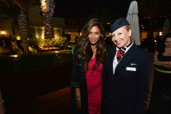Nicole Scherzinger - British Airways Hosts Rooftop Drinks to Celebrate Its Red Carpet Route in West Hollywood 9/26/13